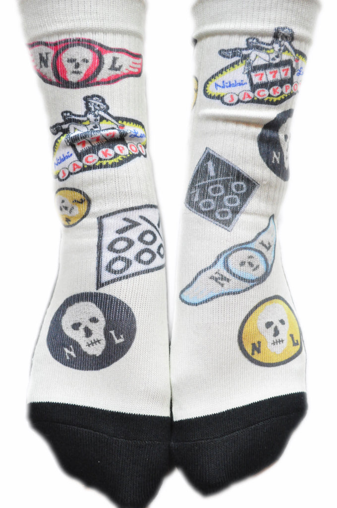 TOUR INVENTORY Patch Print Socks