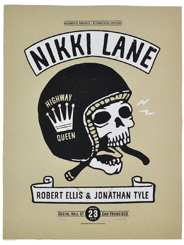 Nikki Lane with Robert Ellis & Jonathan Tyler Poster
