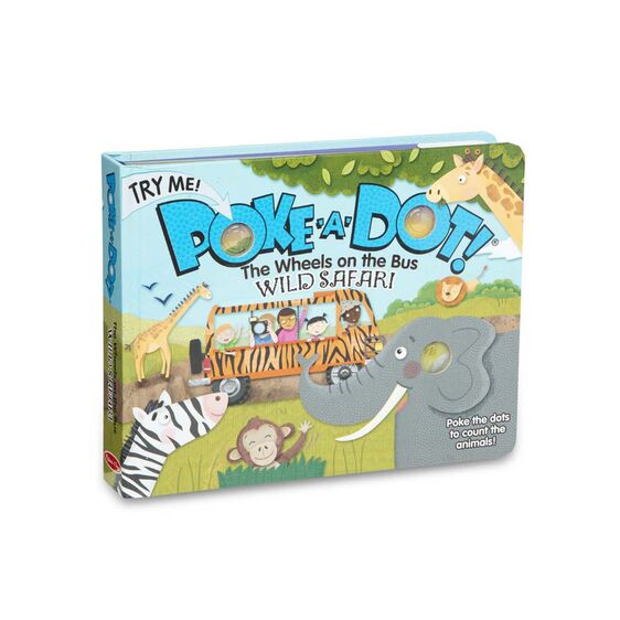 Melissa and Doug Safari Poke-A-Dot Book