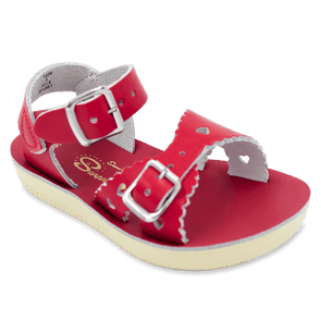 Salt Water Sweetheart Sandals in Red