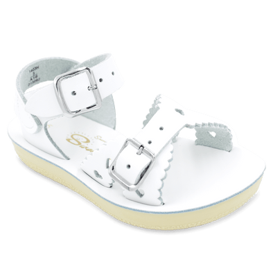 Salt Water Sweetheart Sandals in White