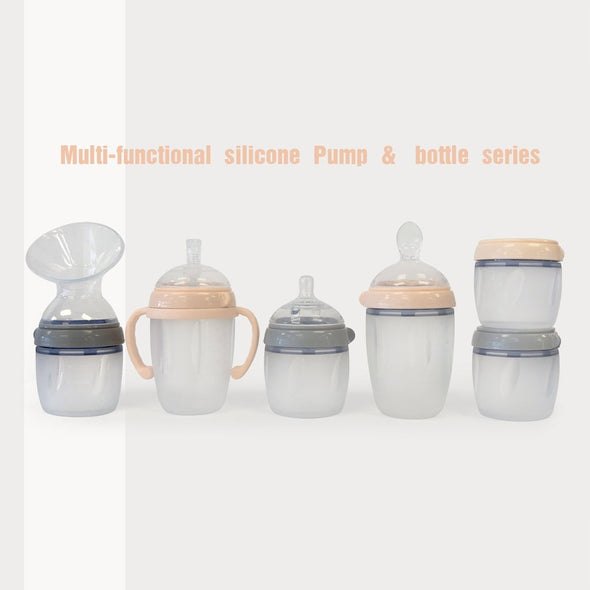 Haakaa 250ml Silicone Breast Pump in Nude