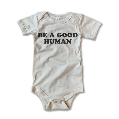 Rivet Apparel Good Human Onesie