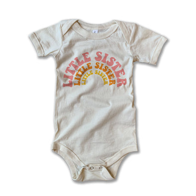 Rivet Apparel Little Sister Onesie