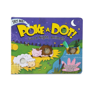 Melissa and Doug Good Night Animals Poke-A-Dot Book