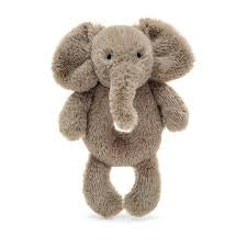 Jellycat Smudge Elephant Ring Rattle