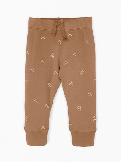 Colored Organics Cruz Jogger in Ginger Peak