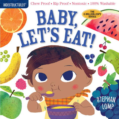 Indestructibles Baby Let's Eat Book