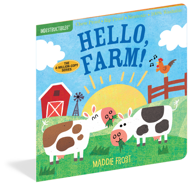 Indestructibles Hello, Farm! Book