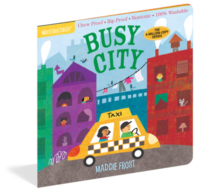 Indestructibles Busy City Book