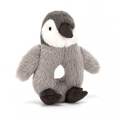 Percy Penguin Grabber Ring Rattle