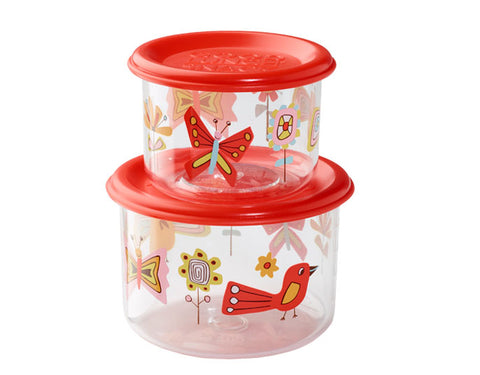 Ore Originals Small Snack Container in Birds & Butterflies