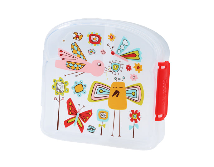 Ore Originals Sandwich Box in Birds & Butterflies
