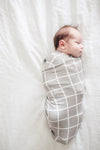 Copper Pearl Swaddle Blanket in Midway