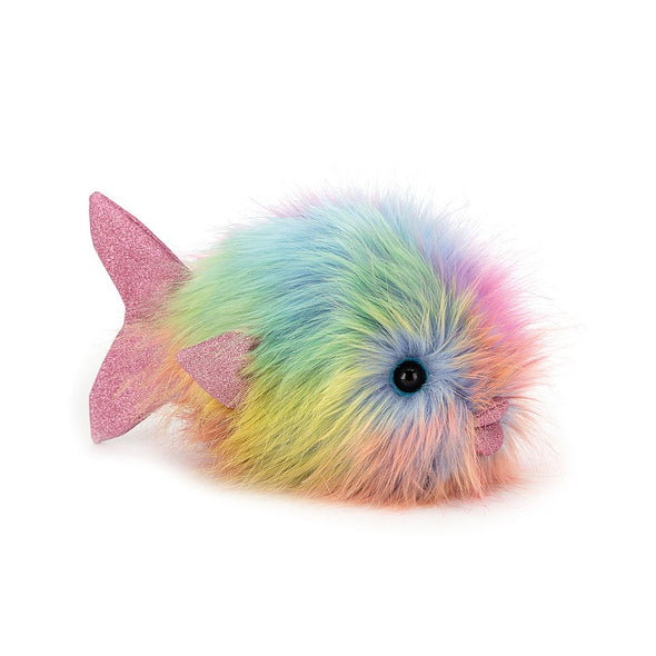 Jellycat Disco Fish in Rainbow