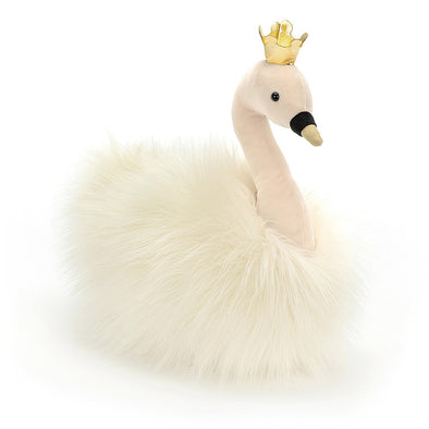 Jellycat Fancy Swan Fluffy