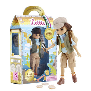 Schylling Fossil Hunter Lottie Doll