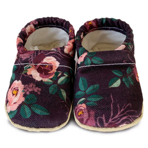 Clamfeet Crib Shoes in Harlowe