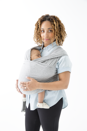 Baby Wrap- Heather Grey