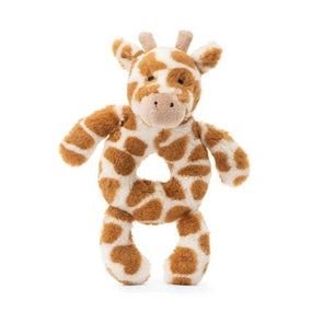 Jellycat Giraffe Ring Rattle