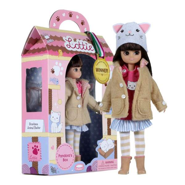 Schylling Pandora's Box Lottie Doll