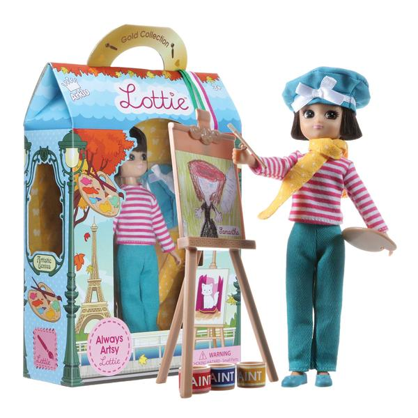 Schylling Always Artsy Lottie Doll