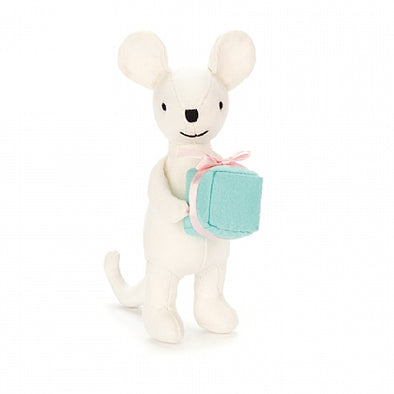 Jellycat Mini Messenger Mouse