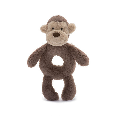 Jellycat Monkey Ring Rattle