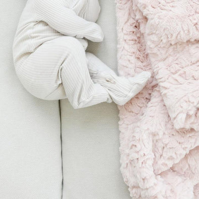 Saranoni Dream Receiving Blanket in Blush