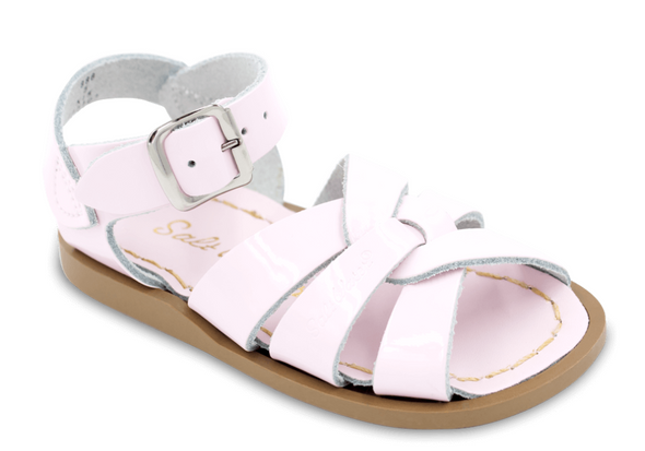 Salt Water Sandals in Shiny Pink