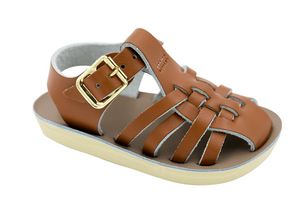 Salt Water Sailor Sandals in Tan