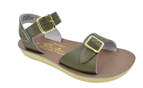 Salt Water Surfer Sandals in Olive