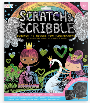 OOLY Scratch and Scribble Art Kit in Princess