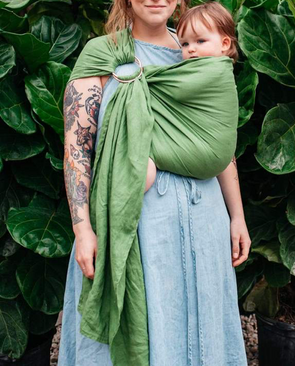 Kyte Baby Ring Sling in Fern