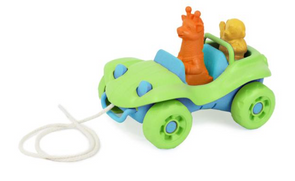 Green Toys Dune Buggy Pull Toy in Green