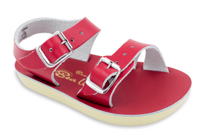 Salt Water Sea Wee Sandals in Red