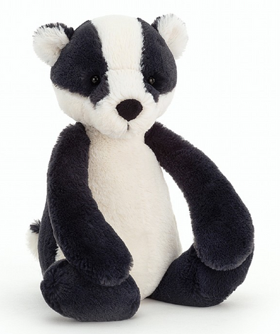 Jellycat Bashful Badger Medium