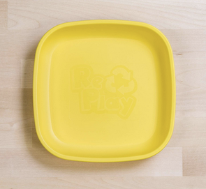 Re-Play Flat Plate in Yellow