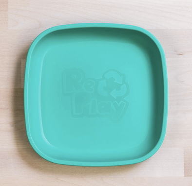 Re-Play Flat Plate in Aqua