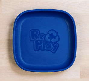 Re-Play Flat Plate in Navy