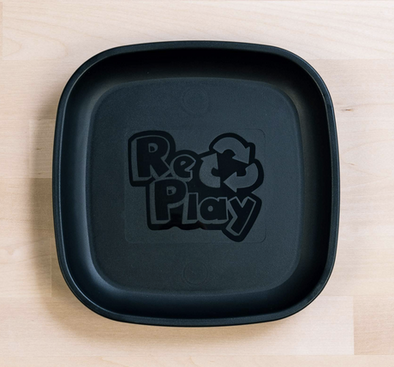 Re-Play Flat Plate in Black