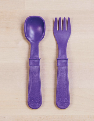 Re-Play Utensil Pair in Amethyst