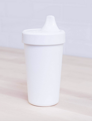 Re-Play No Spill Sippy in White