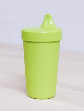 Re-Play No Spill Sippy in Lime Green