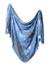 Copper Pearl Swaddle Blanket in Galaxy