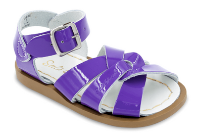 Salt Water Sandals in Purple