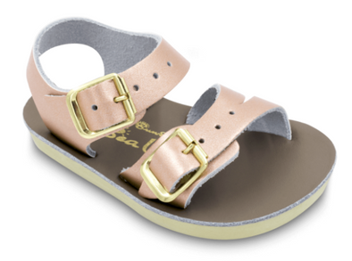 Sea Wee Sandals in Rose Gold