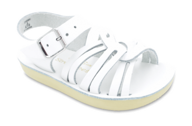 Salt Water Strap Wees Sandals in White