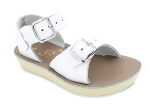 Salt Water Surfer Sandals in White