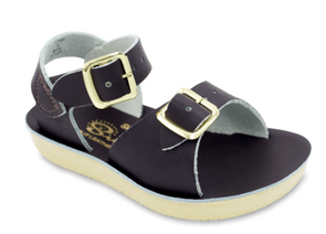 Salt Water Surfer Sandals in Brown